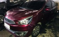 Red Mitsubishi Mirage 2018 for sale in Automatic