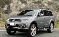 Grey Mitsubishi Montero Sport 2015 for sale in Las Piñas