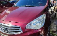 Red Mitsubishi Mirage G4 2019 for sale in Automatic