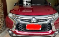 Red Mitsubishi Montero Sport 2016 for sale in Quezon City
