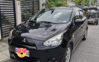 Black Mitsubishi Mirage 2015 for sale in Automatic
