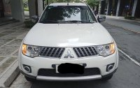 White Mitsubishi Montero 2012 for sale in Bacoor