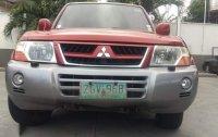 Red Mitsubishi Pajero 2006 for sale in Las Piñas