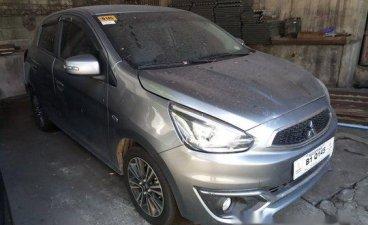 Selling Grey Mitsubishi Mirage 2017 Automatic Gasoline at 18000 km in Makati