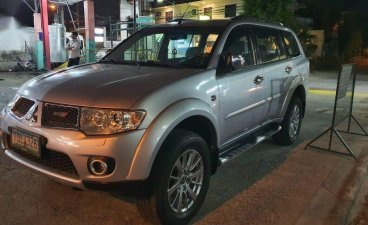 Silver Mitsubishi Montero 2012 for sale in Automatic