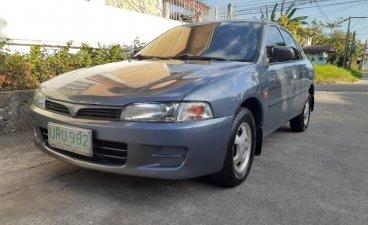 Grey Mitsubishi Lancer 1.3 2004 for sale in Batangas