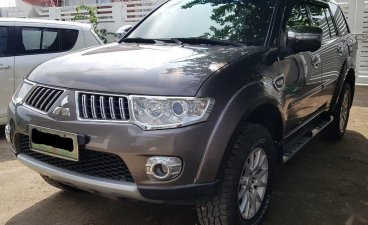 Grey Mitsubishi Montero 2012 for sale in Angeles City