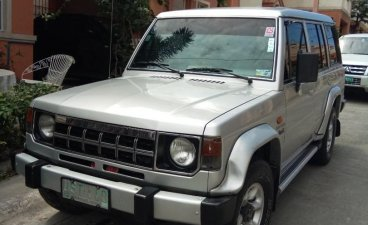 Silver Mitsubishi Montero 1997 for sale in Las Pinas