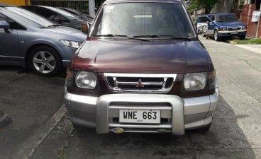 Maroon Mitsubishi Adventure 2000 SUV / MPV for sale in Manila