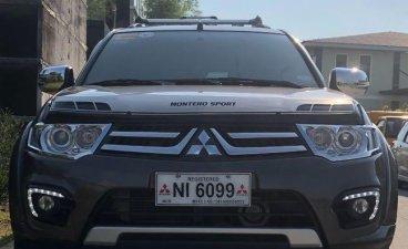 Sell Brown 2015 Mitsubishi Montero Sport in Dasmariñas City
