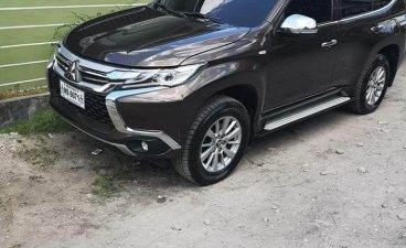 Selling Black Mitsubishi Montero sport 2018 in Manila