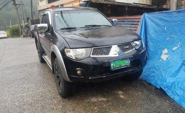 Black Mitsubishi Strada 2013 for sale in Baguio City