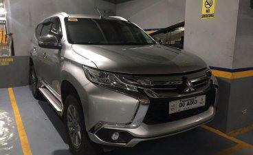 Silver Mitsubishi Montero 2017 for sale in Las Pinas