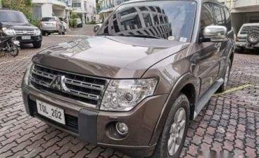 Brown Mitsubishi Pajero 2011 SUV at 116000 km for sale in Manila