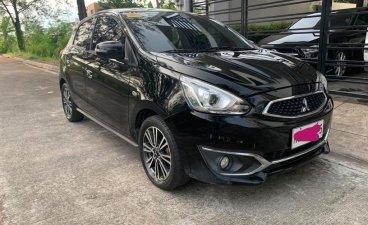 Selling Black Mitsubishi Mirage 2016 in Pasig