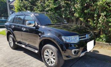 Black Mitsubishi Montero Sport 2015 for sale in Manila