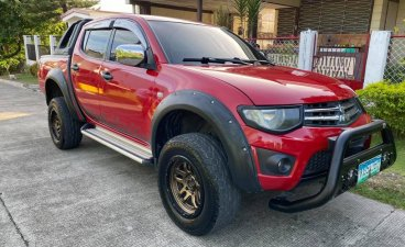 Selling Red Mitsubishi Strada 2013 in Cebu City