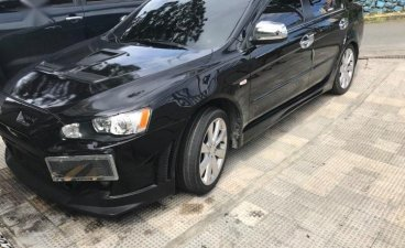 Selling Black Mitsubishi Lancer EX 2014 in Baguio