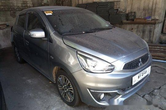 Selling Grey Mitsubishi Mirage 2017 Automatic Gasoline at 18000 km in Makati