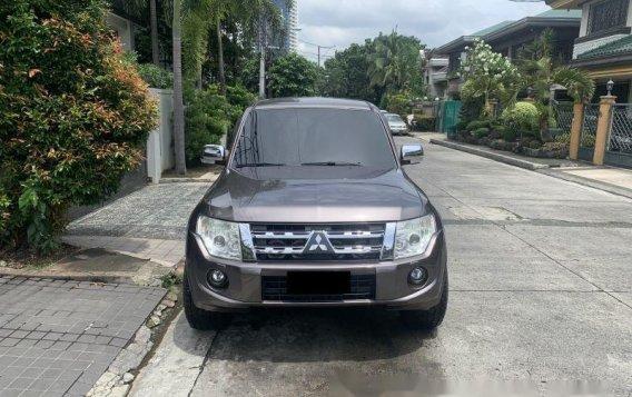 Brown Mitsubishi Pajero 2012 Automatic Diesel for sale