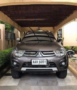 Brown Mitsubishi Montero Sport 2014 Manual Diesel for sale