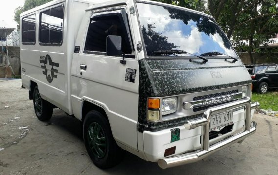 White Mitsubishi L300 2007 for sale in Manual