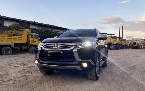 Black Mitsubishi Montero sport 2016 for sale in Manila