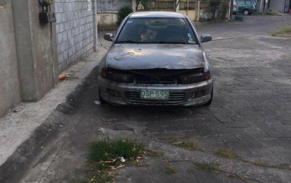 Silver Mitsubishi Galant 1998 for sale in Las Pinas