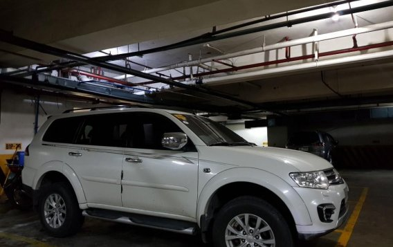 Sell White 2015 Mitsubishi Montero in Makati