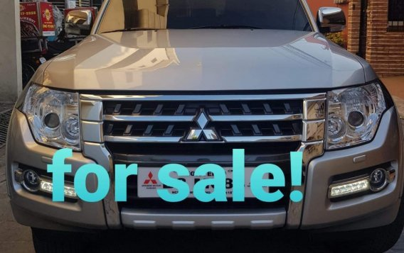 Cream Mitsubishi Pajero 2018 for sale in Dasmarinas