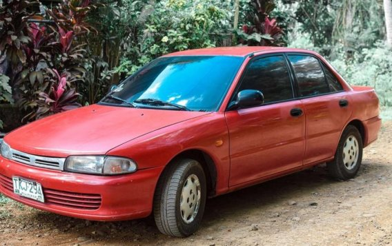 Red Mitsubishi Lancer 2014 for sale in Cagayan de Oro City