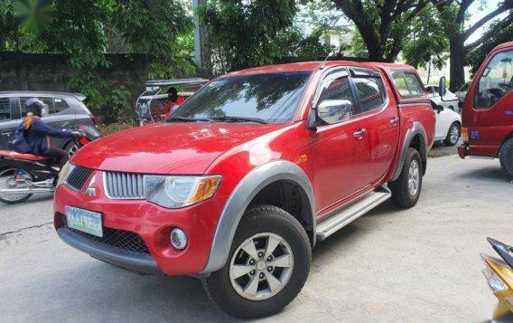 Selling Red Mitsubishi Strada 2007 in Laguna