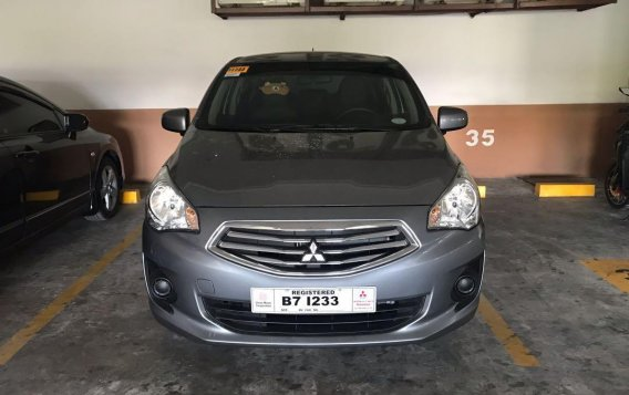 Silver Mitsubishi Mirage g4 2019 for sale in Pasig City
