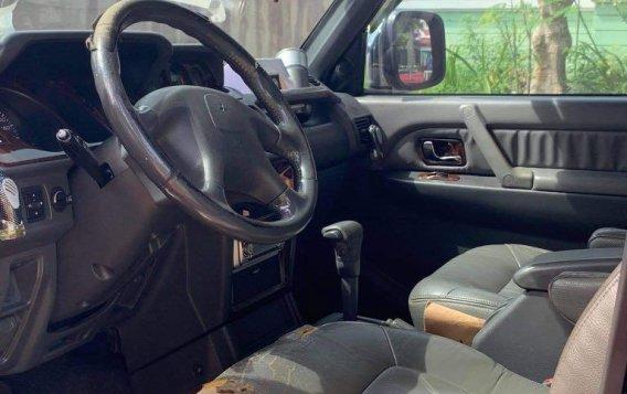 Selling Black Mitsubishi Pajero 2004 in Laguna