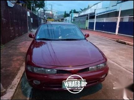 Red Mitsubishi Galant 1996 for sale in Marikina