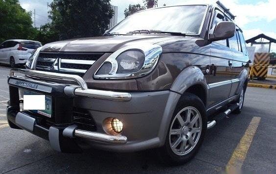 Brown Mitsubishi Adventure 2014 for sale in Manila