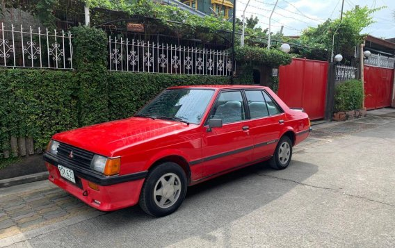 Sell Red 1986 Mitsubishi Lancer in Quezon City