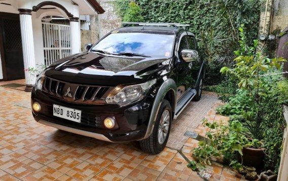Black Mitsubishi Strada 2018 for sale in Quezon City