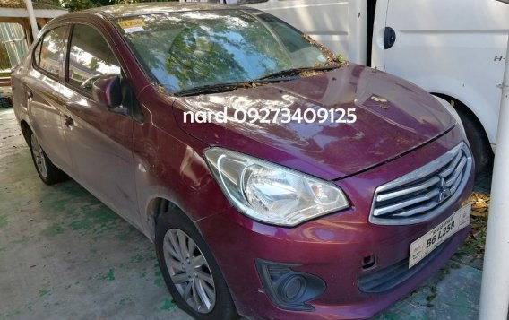 Purple Mitsubishi Mirage G4 2019 for sale in Quezon City