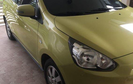 Sell Yellow 2015 Mitsubishi Mirage in Victoria