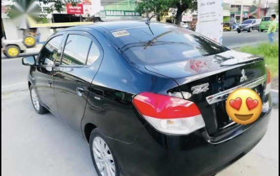 Black Mitsubishi Mirage G4 2014 for sale in Angeles