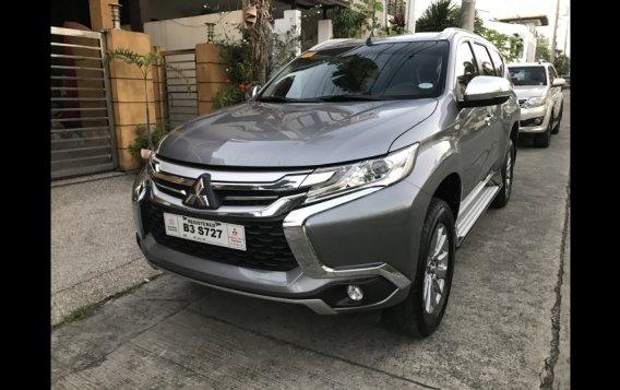 Selling Silver Mitsubishi Montero Sport 2019 in Quezon