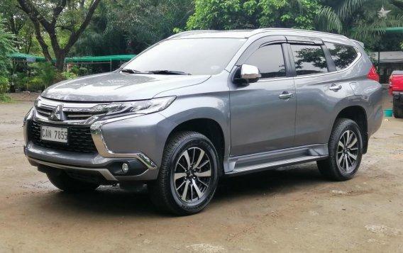 Brightsilver Mitsubishi Montero Sport 2018 for sale in Quezon