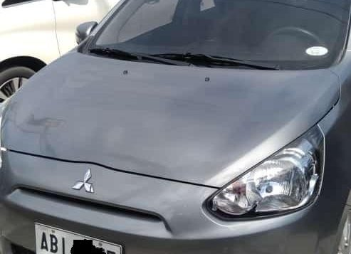 Grey Mitsubishi Mirage 2015 Sedan at Automatic  for sale in Angeles