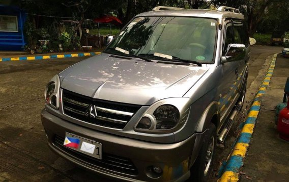 Silver Mitsubishi Adventure 2017 for sale in Quezon