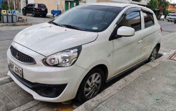 Selling White Mitsubishi Mirage 2018 in Quezon