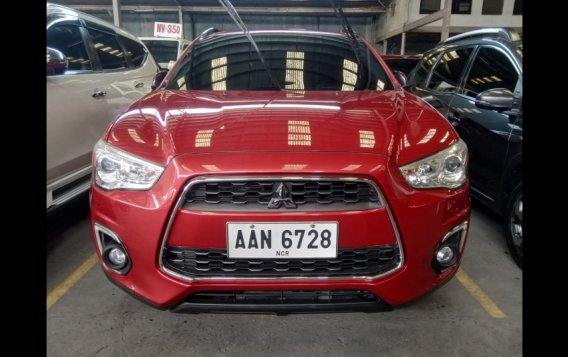 Red Mitsubishi ASX 2015 for sale in Quezon