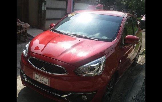 Selling Red Mitsubishi Mirage 2017 in Caloocan