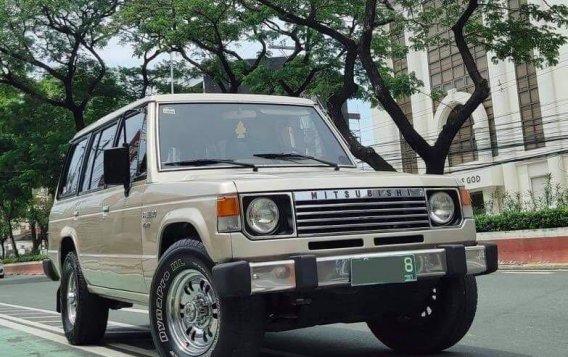 Beige Mitsubishi Pajero 1993 for sale in Quezon