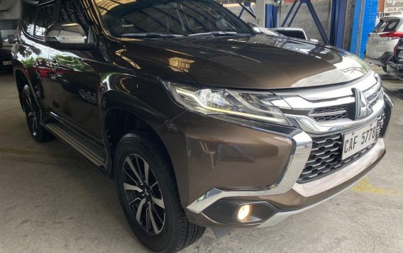 Selling Brown Mitsubishi Montero 2017 in San Fernando
